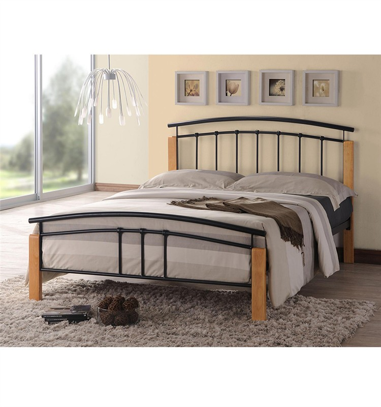 Professional design cheap white double bed cheapest metal for Cheap double deck bed