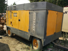 USED atlas diesel Rotary Screw Air Compressor