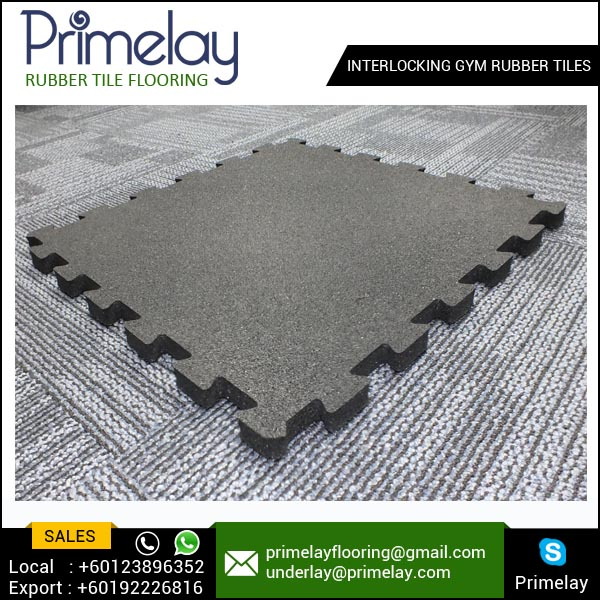 Gym Floor Tiles From Malaysia By Primelay Smart Flooring
