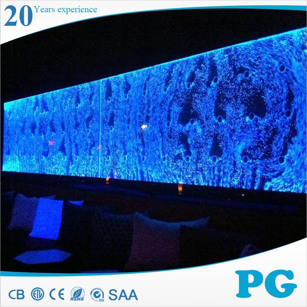 Pg Fabulous Acrylic Bubble Wall Water Panel Buy Bubble