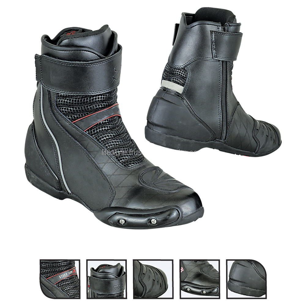 Boots Boys Motorcycle Boots Motorbike Racing Shoes Motorbike Shoes ...