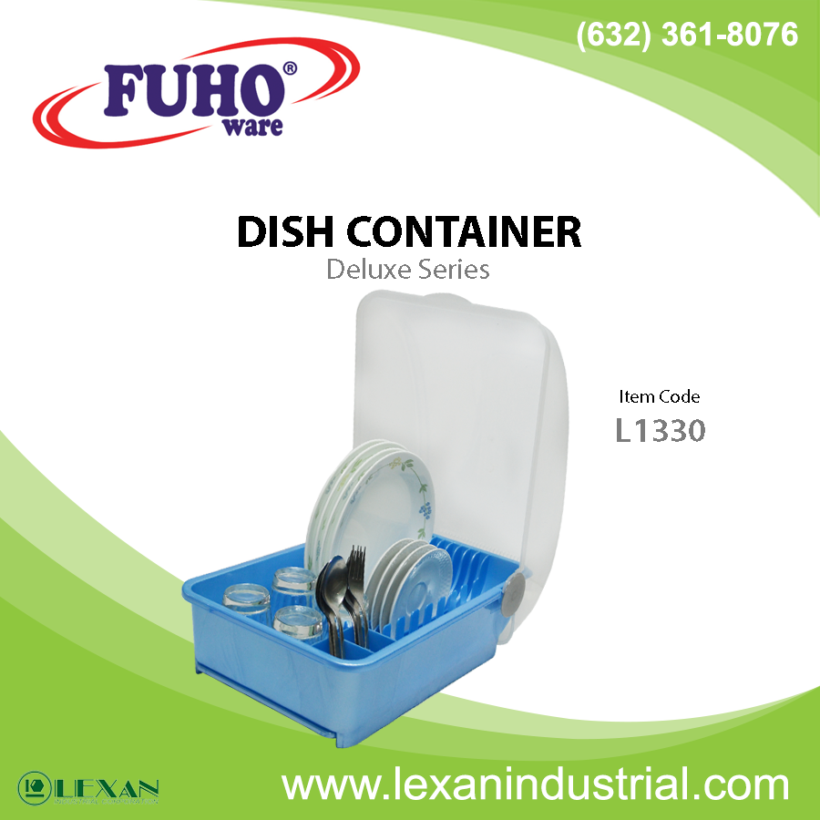 L1330 - Fuho Plastic Dish Container (Philippines)
