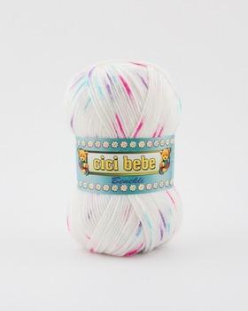 Baby Hand Knitting Yarn Cicibebe Benekli 99-11