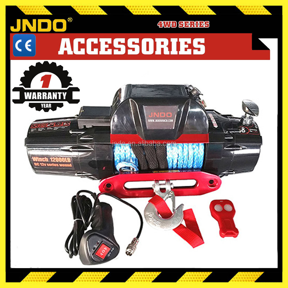Offroad 4wd pick-up truck 12000lb waterproof electric winch