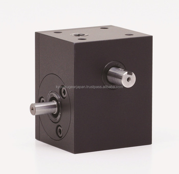 Small worm gearbox WS75R-050