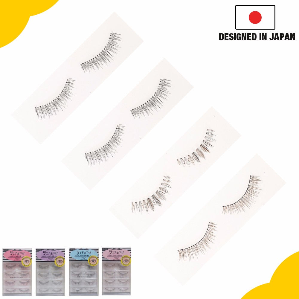 Easy To Apply False Eyelashes With Artificial Lashes For Any Eye