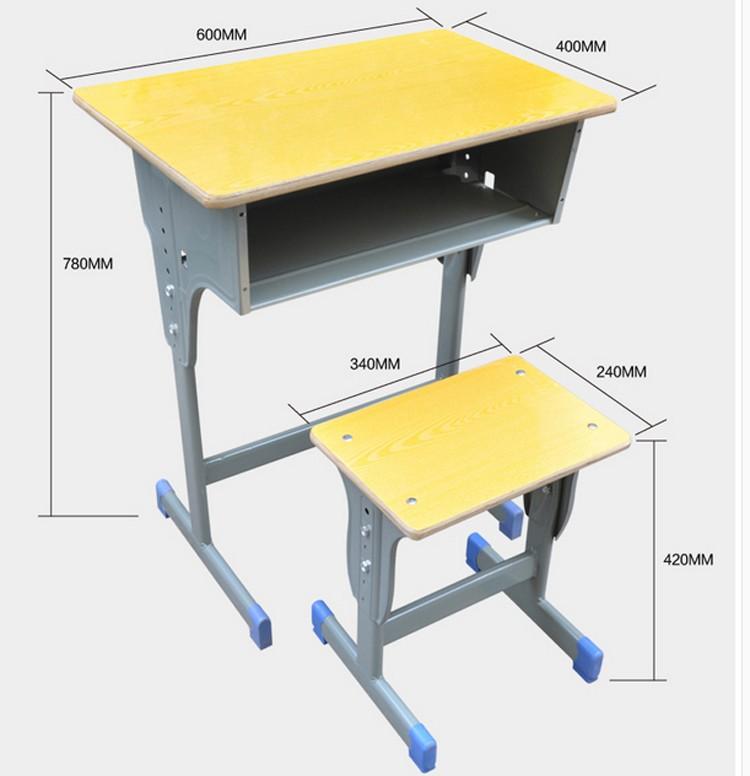 Classroom Furniture Dimensions ~ Adult school desk student classroom standard size