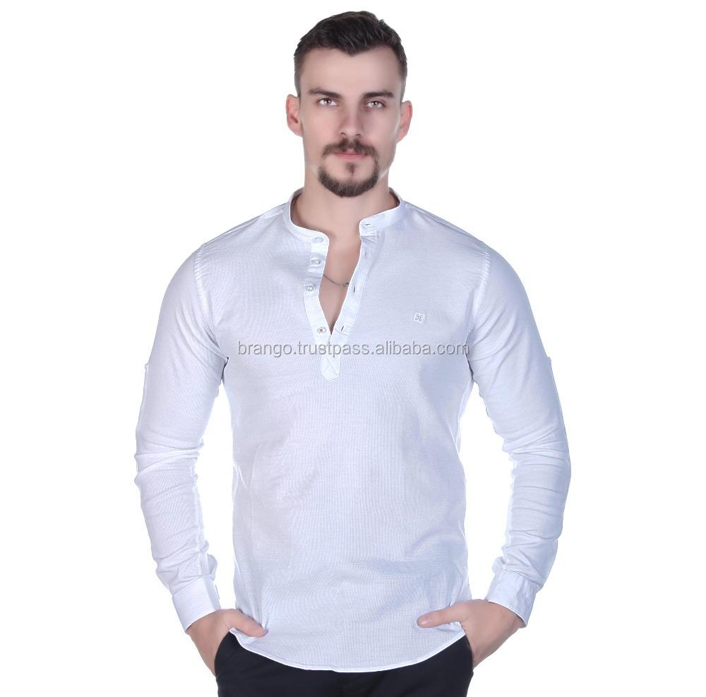 0accbcbe2 Men's Mandarin Collar Casual Shirt From Turkey - Buy Mandarin Collar Dress  Shirt,Mandarin Collar Shirt For Men,Men's Dress Shirt Product on Alibaba.com