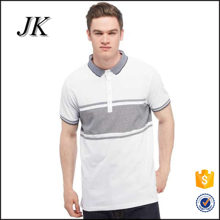 Wholesale two tone polo shirt running golf polo shirts mens
