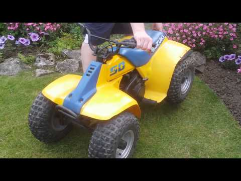 Suzuki lt50 quad bike kids 50cc quad for sale