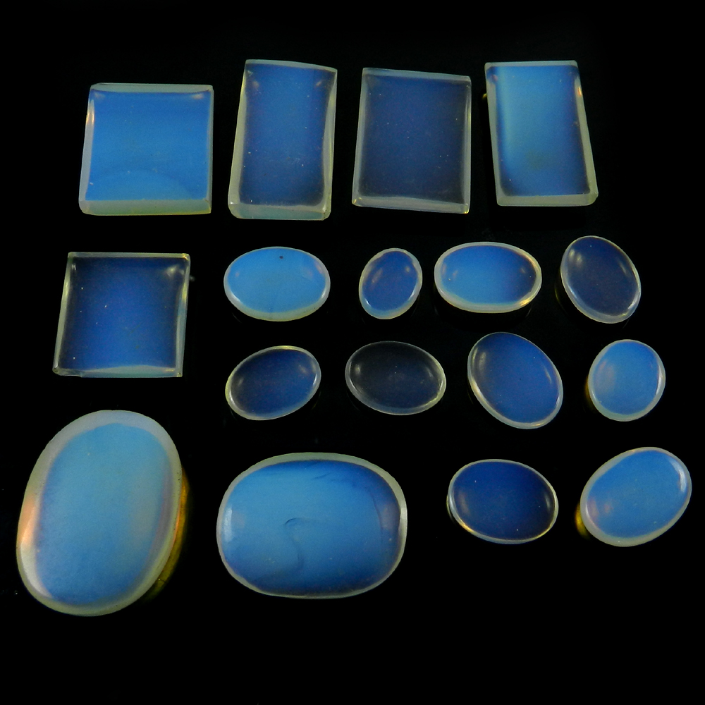17 pcs ! Natural Opalite 100 gms Free form cabochon, Gems for jewelary IG0693