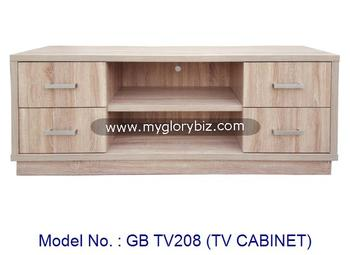 Modern Wooden Tv Cabinet With Drawers