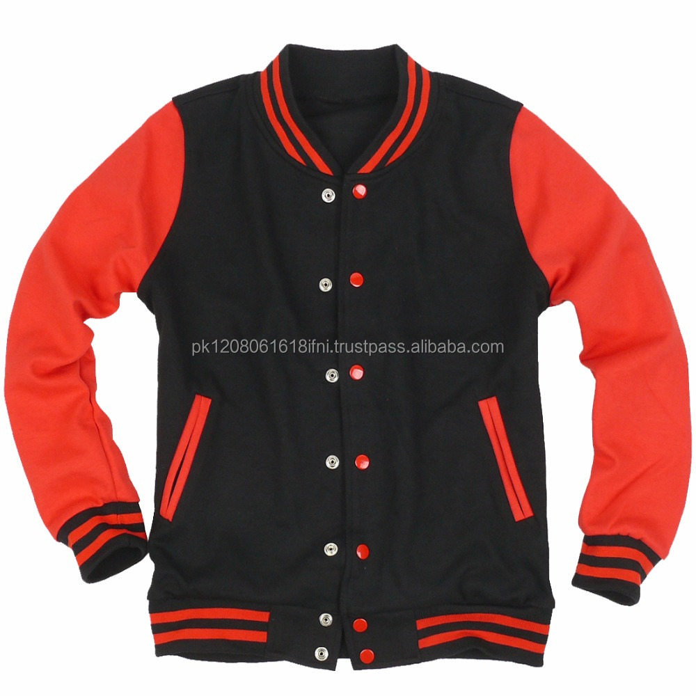 Black Red Baseball Jacket, Black Red Baseball Jacket Suppliers and ...