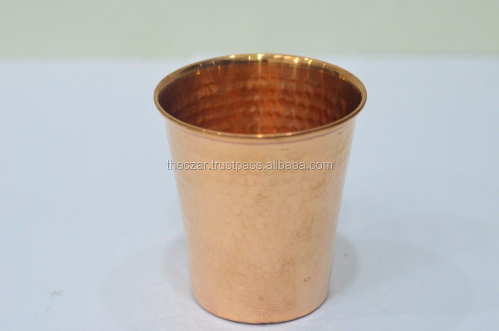 Pure Copper Glass - | 300 ML Durable and Healthy | Water storage for Home Hotel Drink ware with Good Health Yoga Ayurve