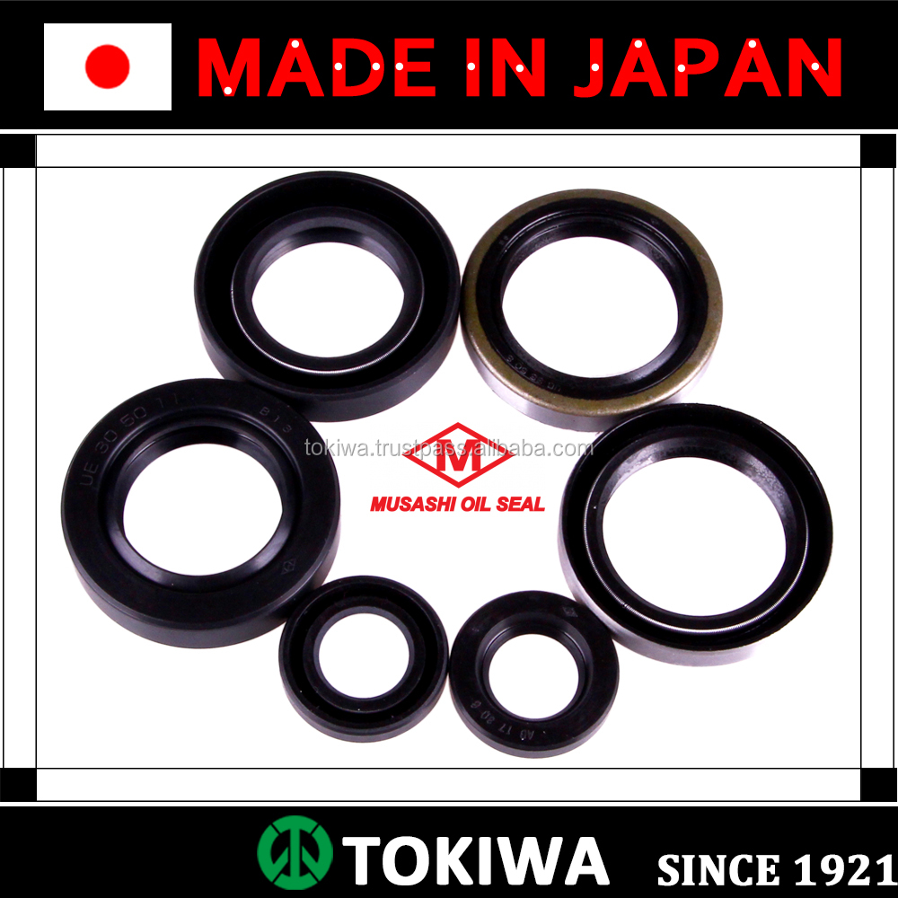 Musashi oil seal with superior performance and suitable for various uses. Made in Japan (national oil seal size chart)