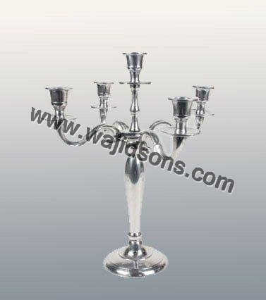 Black Aluminum Candelabra Whole Wedding