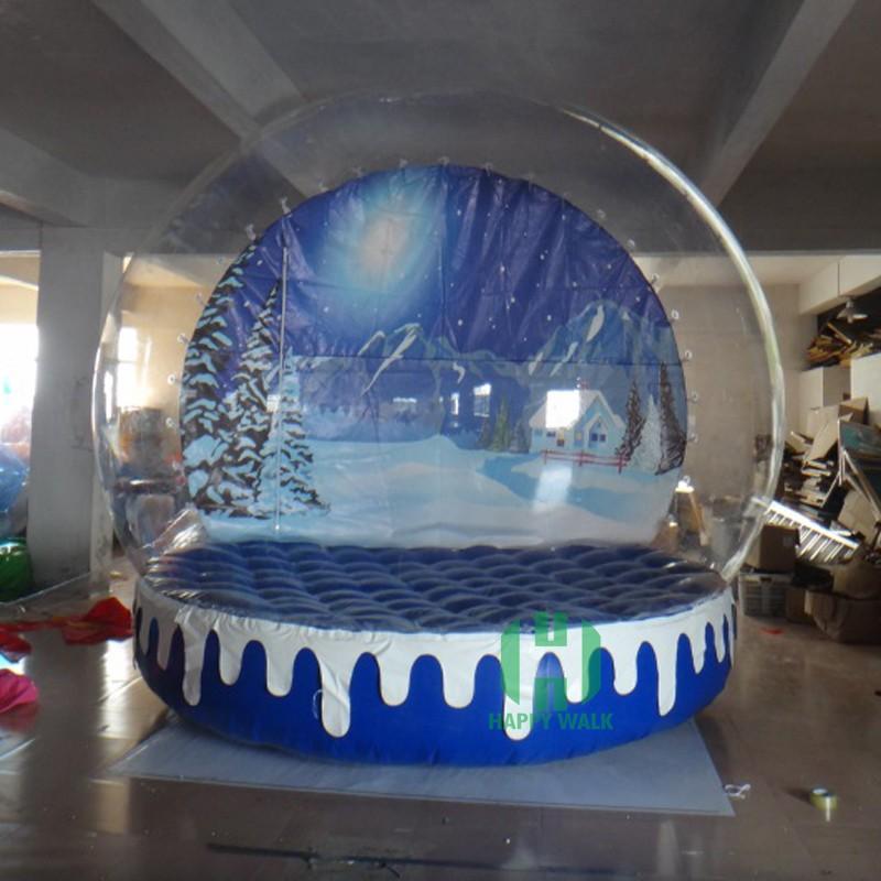 Weihnachten Schöne Schneekugeln!! Leere Aufblasbare Schneekugel Mit ...