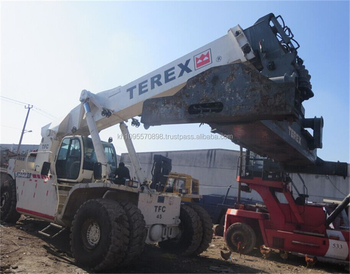 terex reach container tfc45 45ton reach stacker for sale buy 45 rh alibaba com Hydraulic Pallet Stacker Manual Lift Stacker