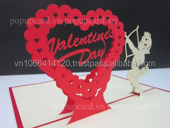 Heart valentines day love 3d greeting pop up card buy greeting heart valentines day love 3d greeting pop up card m4hsunfo