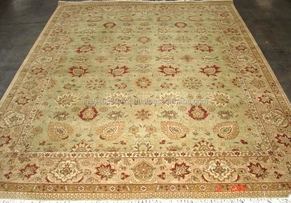 Ziegler persian design Hand Knotted wool rugs