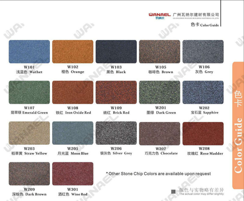 Shingle Dubai Roofing Sheet Suppliers Wanael Stone Coated