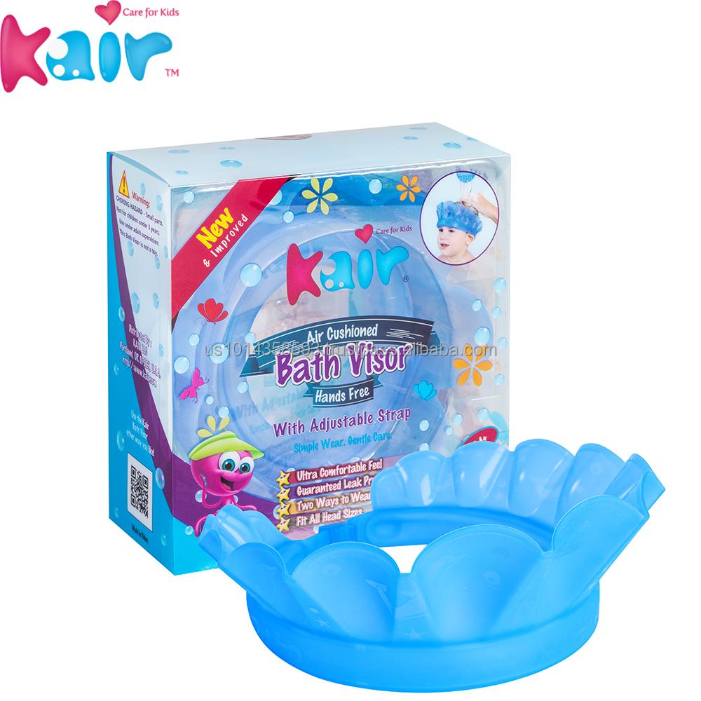 Kair New Item Silicone Rubber Shampoo Shield Hat Baby Bath Cap For ...