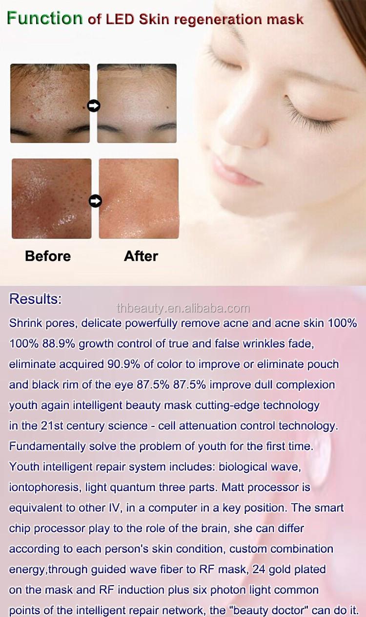 Wholesale Acne Treatment skin care 2D LED electrical facial mask ...