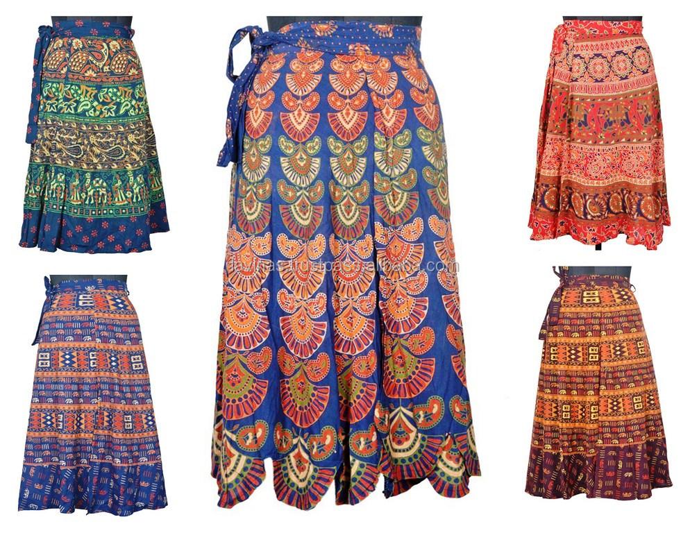 9ec1f796b Algodón Indio Envoltura Faldas Mujeres Envoltura Alrededor De Las Faldas  Magia Faldas Fabricante - Buy Seda India Sari Magia Wrap Faldas,Sari ...