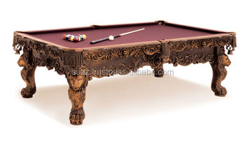 Fancy wooden snooker table set  Snooker table wood  Custom Snooker table  Fancy Billiard  sc 1 st  Alibaba : snooker table set - pezcame.com