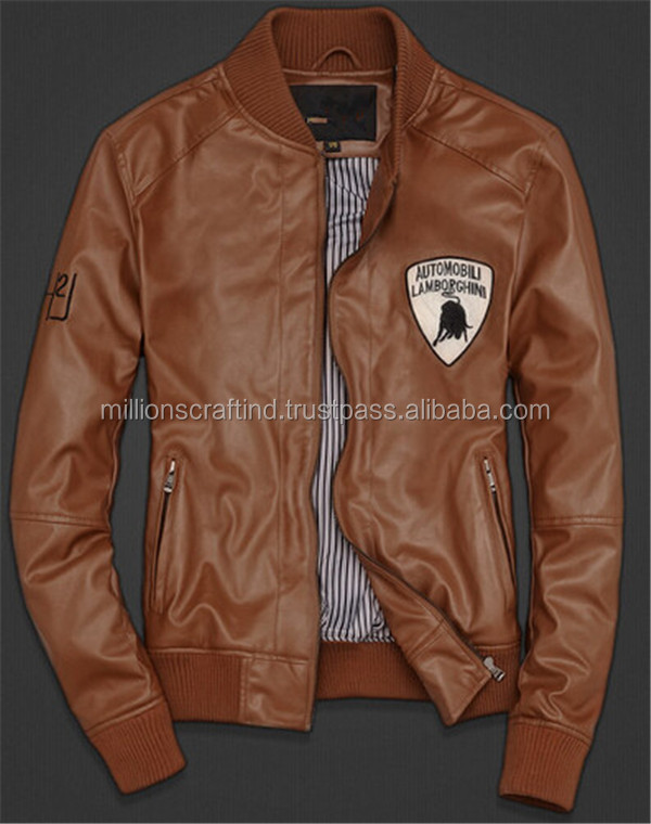 2016 Custom Design Pakistan Leather Jacket In Cheap Price Men ...
