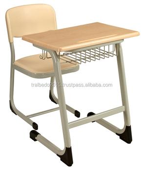 Modern School Desk And Chair/ School Desk Classroom Furniture School  Furniture Single Seat Desk - Buy Cheap School Desks Product on Alibaba.com