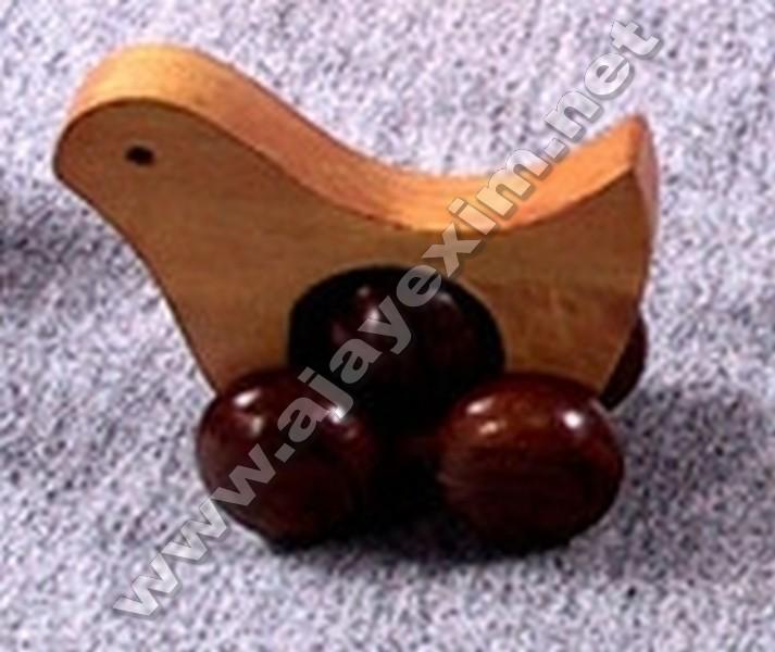 Wooden Hen Toy
