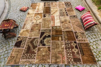 Patchwork Rug Hand Made Rug Anatolian Patch Work Carpet Buy