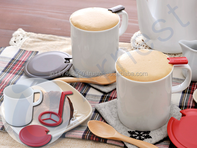 Arnest Japanese tableware drinkware coffee tea match ceramic pottery mug mugs whick lid sets made in Japan 76340 76341