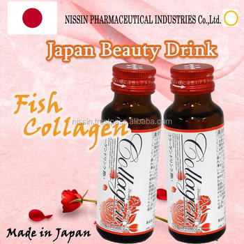 Made in Japan , Fish Collagen 5000mg blended drink / It will keep the moisture of skin