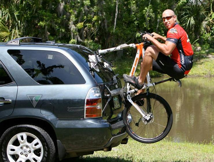 Roof Bike Rack With Suction Cup