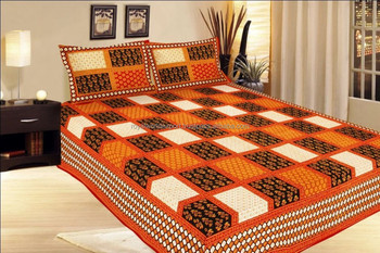 Indian Embroidered India Bedding Set Handmade Beautiful Queen Set