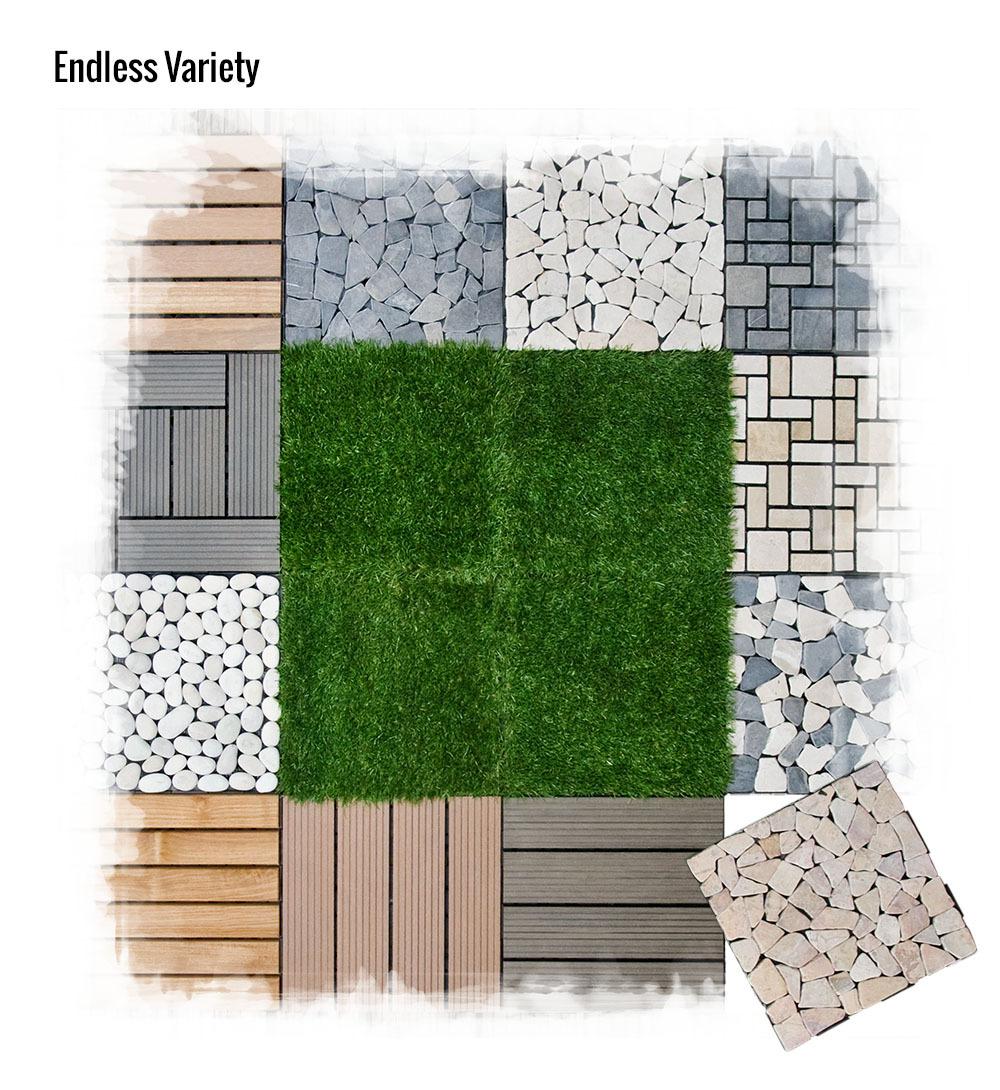 30x30 solid teak interlocking diy garden deck click tile buy teak garden tile product on - Interlocking deck tiles on grass ...