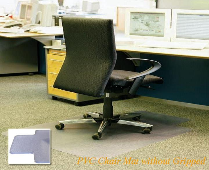 Clear Office Decorative Vinyl Floor Mats Carpet Protector Runner Chair Mat  For Hardwood Floors