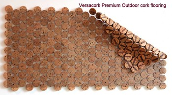 Versacork Outdoor Kork Mosaik FlieseTerrasse Terrasse Balkon - Mosaik fliesen für balkon