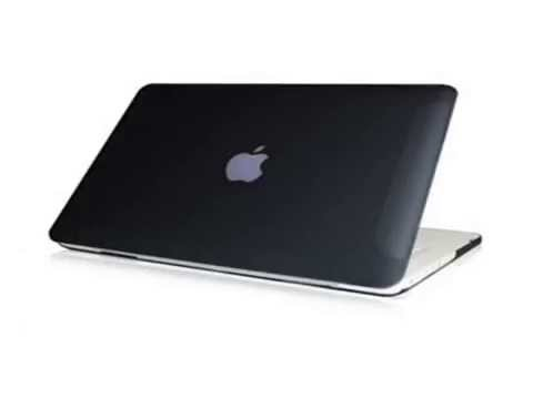"New TopCase Rubberized Black Hard Case Cover for Macbook White 13"" A1342/Latest) wi Slide"