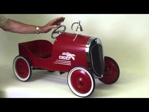 1934 Classic Fire Chief Pedal Car | Pedal Cars And Pedal Car Parts