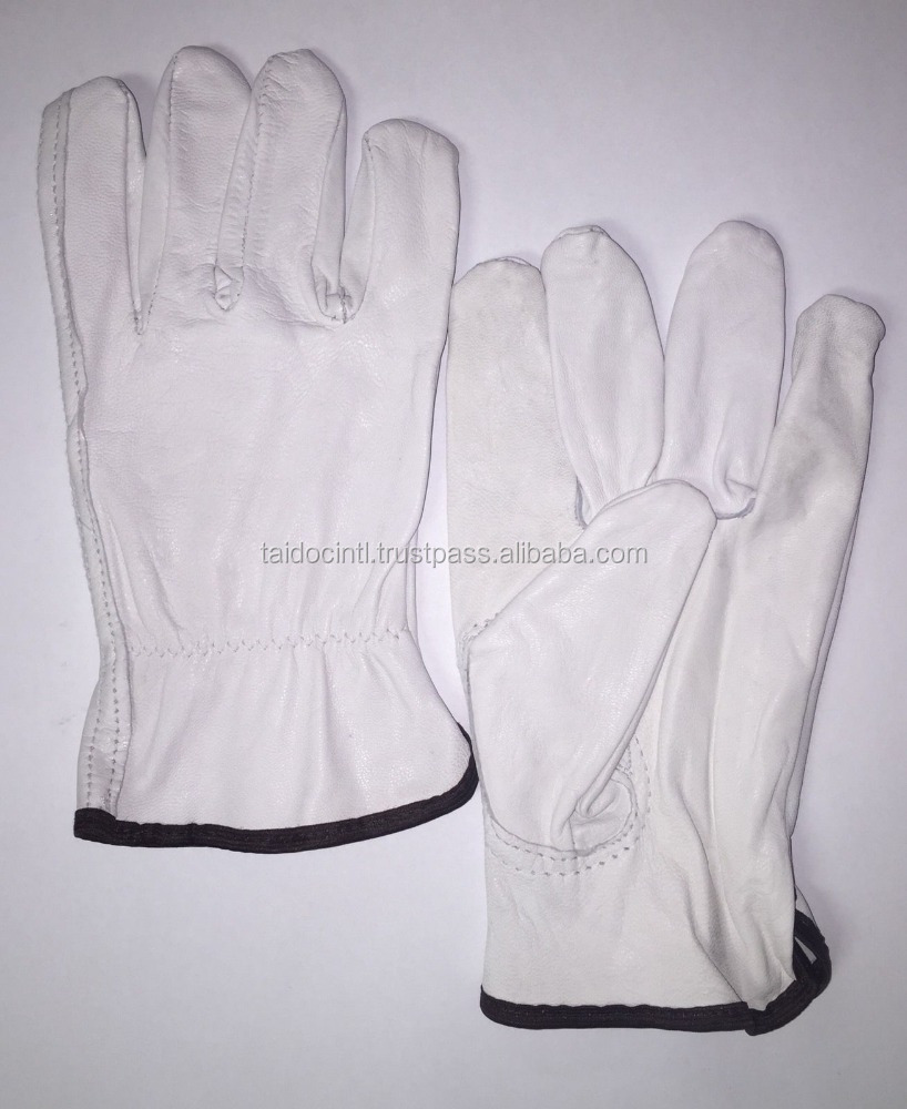 Leather driving gloves bulk - Goatskin Work Gloves Goatskin Work Gloves Suppliers And Manufacturers At Alibaba Com