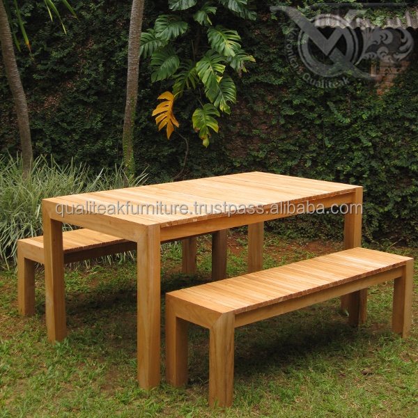 Astonishing Teak Outdoor Patio Sets Dining Table And Bench For Garden Furniture Outdoor Buy Teak Outdoor Patio Sets Dining Table With Bench Garden Furniture Dailytribune Chair Design For Home Dailytribuneorg