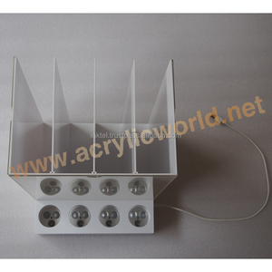 led rechargeable e-cigarette display/vapor display stand