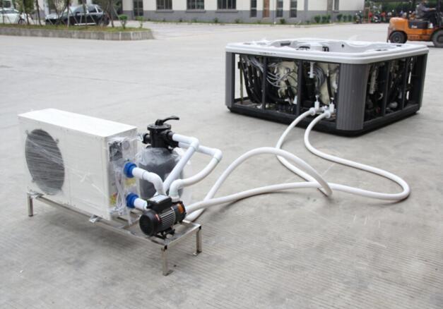 Plastic swimming pool heater ce cb ec etl cetl c tick - Swimming pool heater installation ...