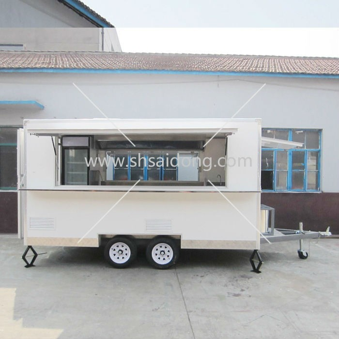Top Popular And Quality Enclosed Mobile Hot Dog Cart