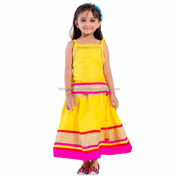 57a1ceb794d9 Wholesale Party Wear Kids Dress Indian Ethnic Traditional Festival ...