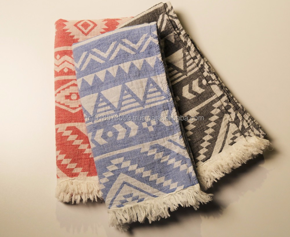 Aztec Pestemal Turkish Towels, Hammam Towel Turkey Wholesale - Beach Blanket&Towel