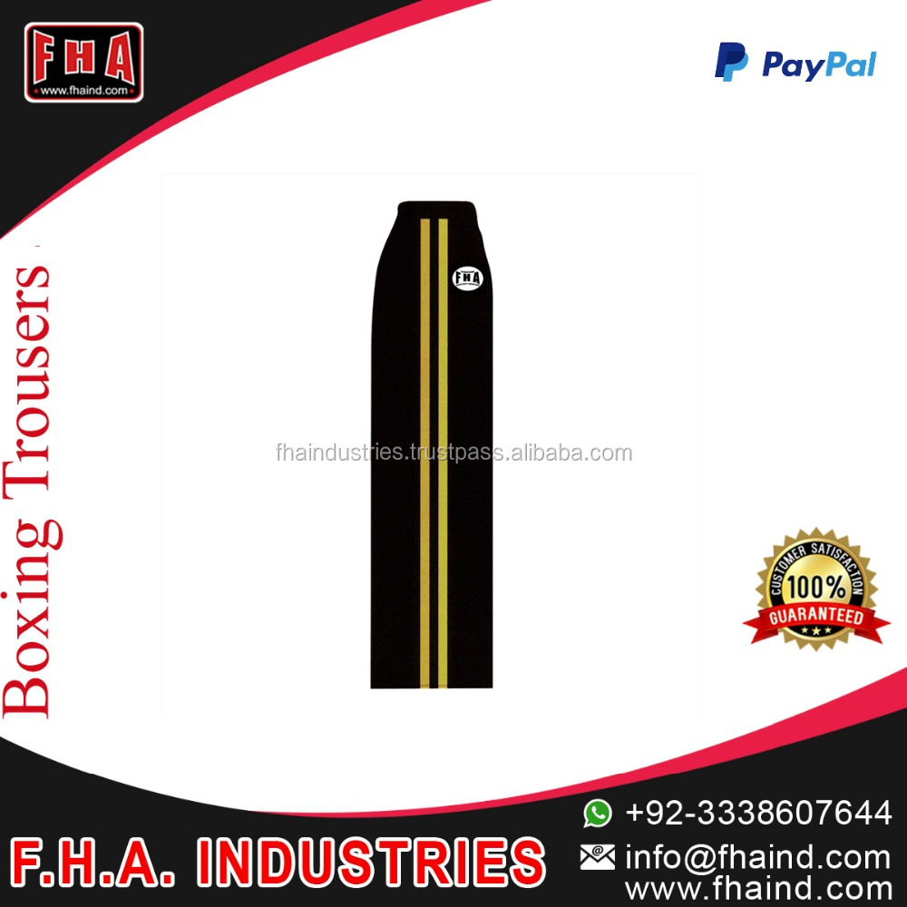 Latest Fashion Design Boxing Trousers / custom boxing Trousers